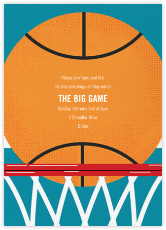 Hoop Dreams - Paperless Post - Sporting Event Invitations