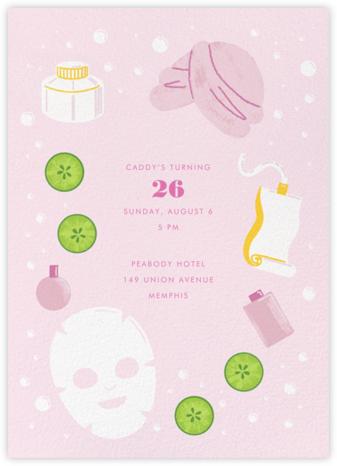 Mask On - Paperless Post - Adult Birthday Invitations