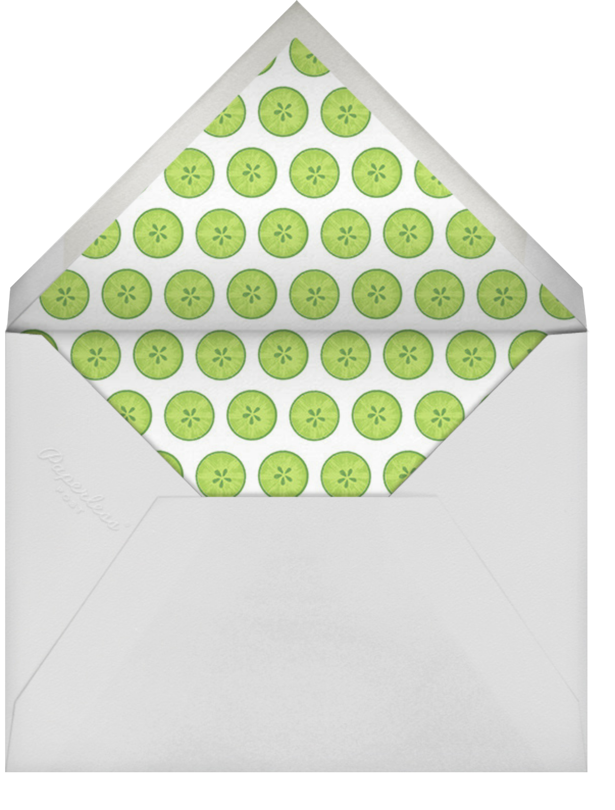 Mask On - Paperless Post - Bachelorette party - envelope back