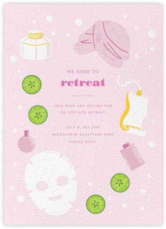 Mask On - Paperless Post - Casual Party Invitations