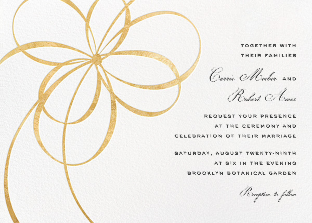Modern wedding invitations online at Paperless Post