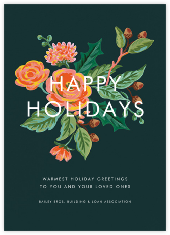 Jardin Noel - Rifle Paper Co. - Company holiday cards