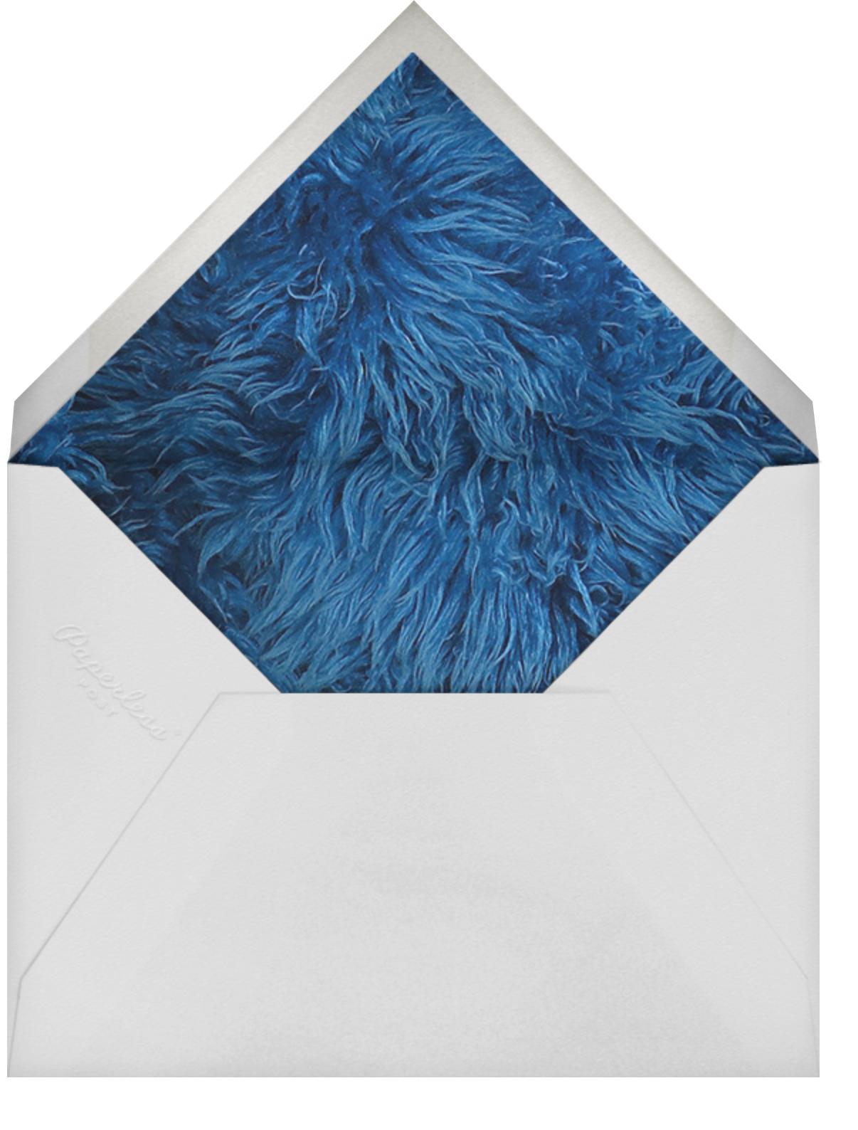 A Monster of a Birthday - Sesame Street - Kids' birthday - envelope back