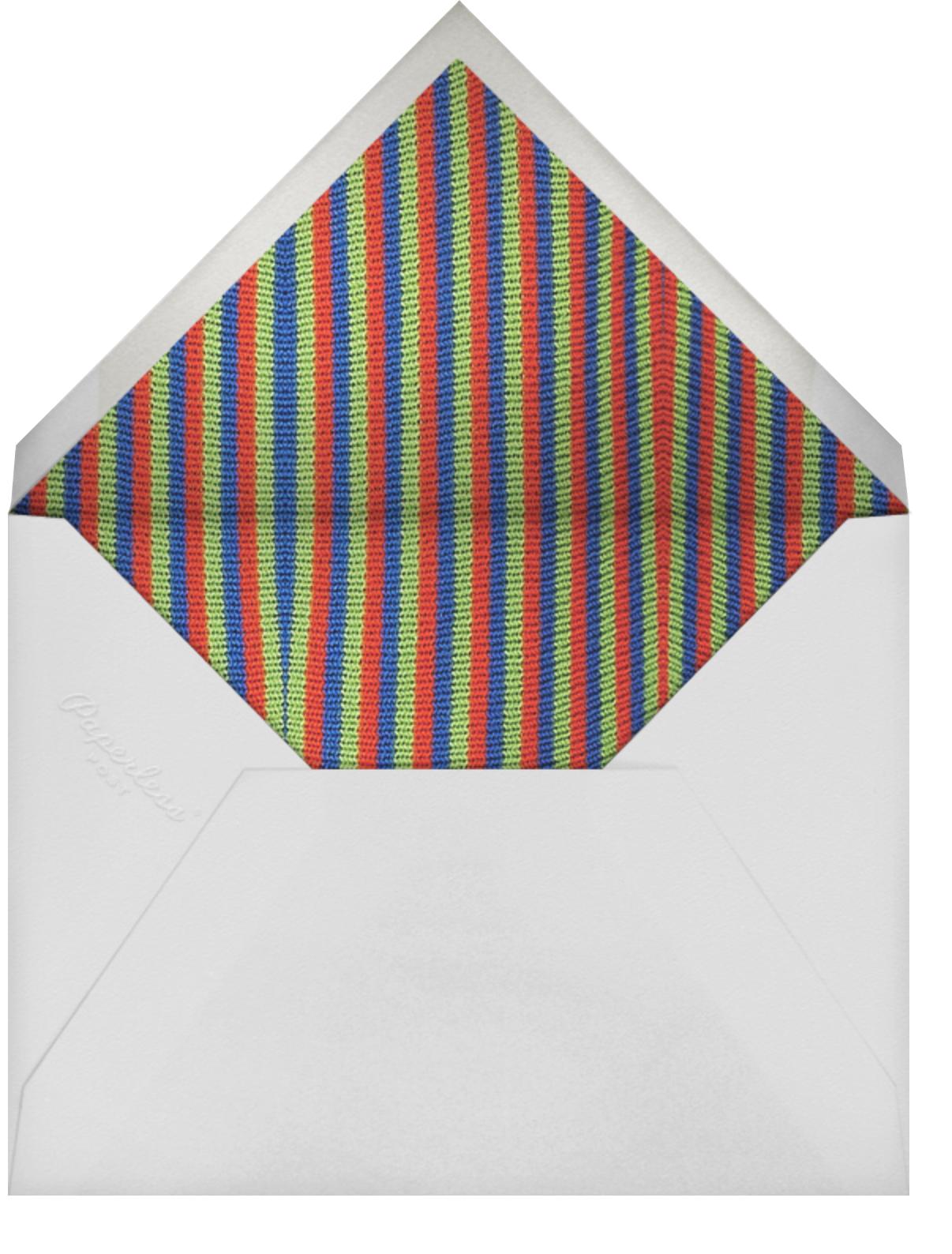 Bert and Ernie - Sesame Street - Kids' birthday - envelope back