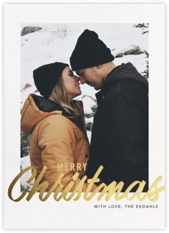 Evelina - Merry Christmas - Paperless Post - Photo Christmas cards