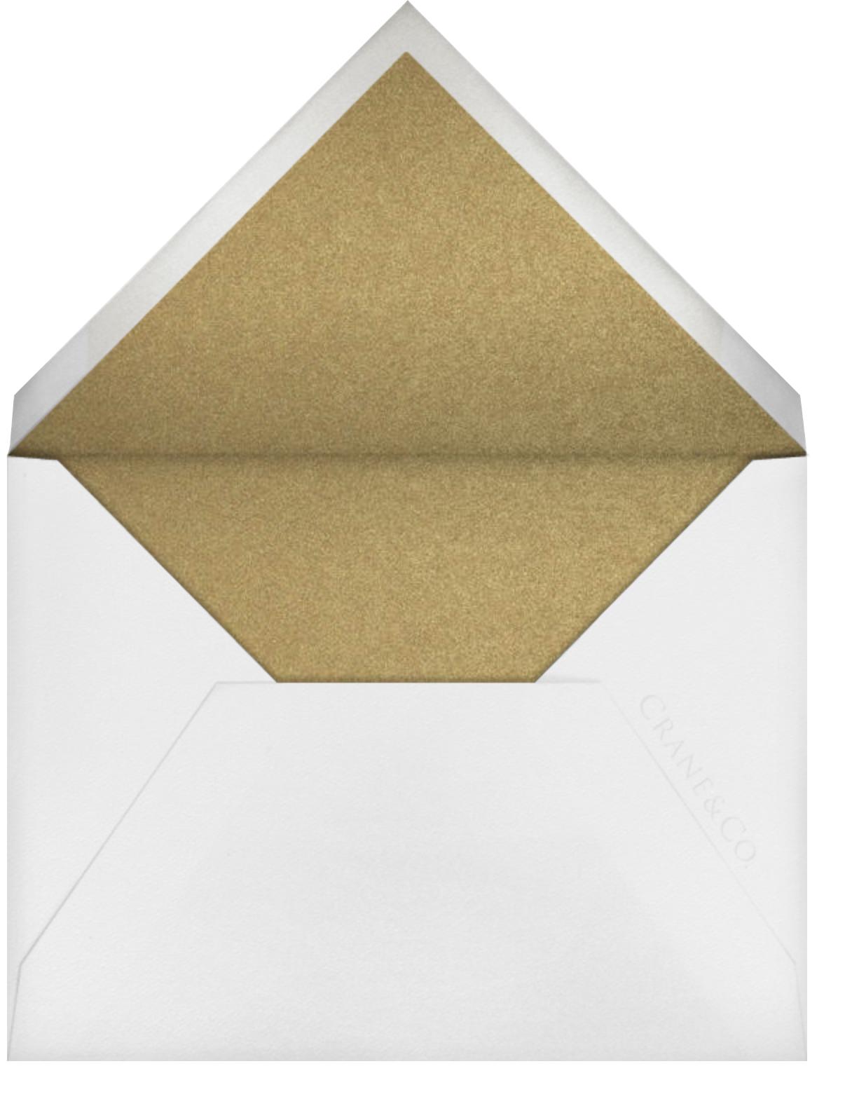 Alcazar - Medium Gold - Crane & Co. - All - envelope back