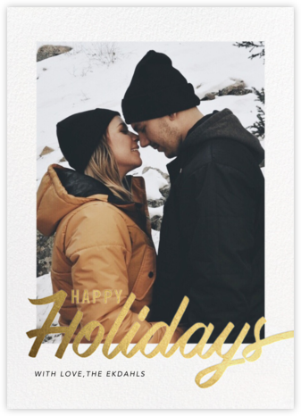 Evelina - Happy Holidays - Paperless Post - Holiday Cards