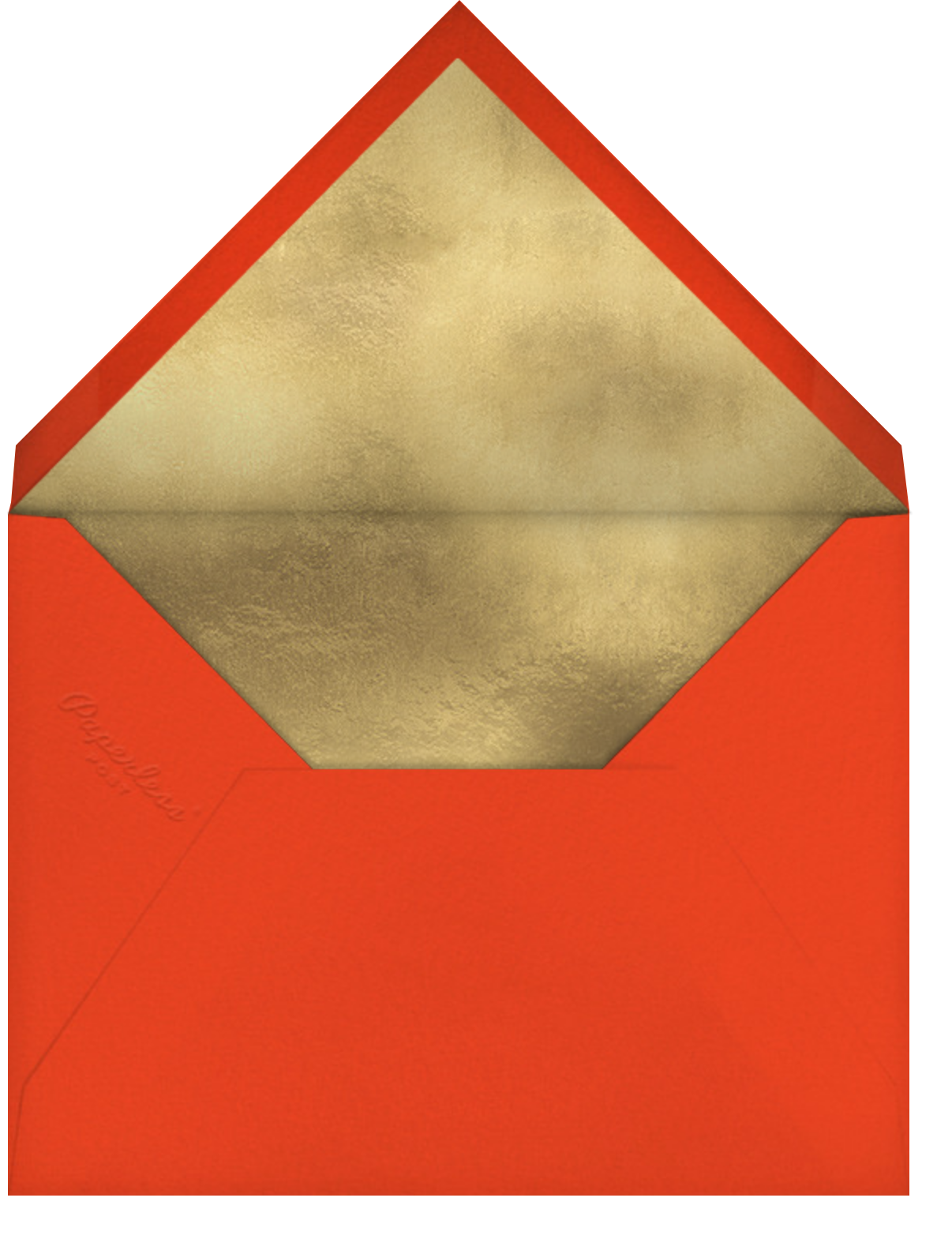 Evelina - Merry Everything - Paperless Post - Holiday cards - envelope back