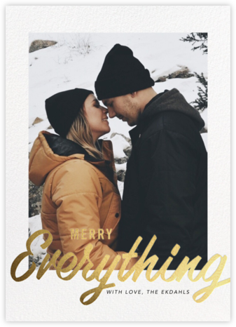 Evelina - Merry Everything - Paperless Post - Holiday cards