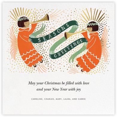Hark the Heralds - Medium - Rifle Paper Co. - Religious Christmas Cards
