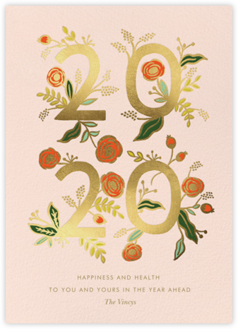 Poppy New Year 2020 - Rifle Paper Co. - Online greeting cards