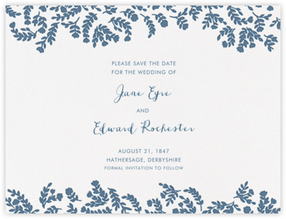 Anthea (Save The Date) - French Blue | null