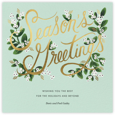 Mistletoe Branches - Rifle Paper Co. - Rifle Paper Co.