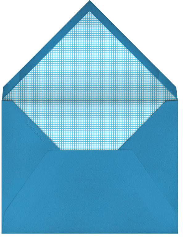 Band Aid - The Indigo Bunting - Get well - envelope back