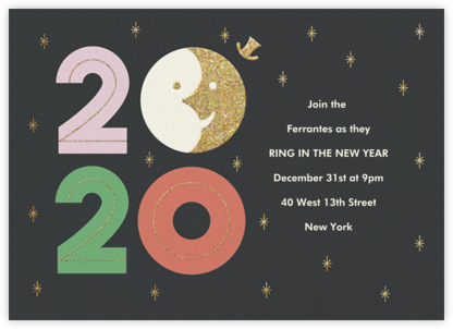Sunset on 2019 - Paperless Post - New Year's Eve Invitations