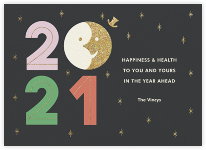 Sunset on 2020 - Paperless Post - New Year Cards