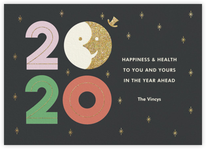 Sunset on 2019 - Paperless Post - New Year cards