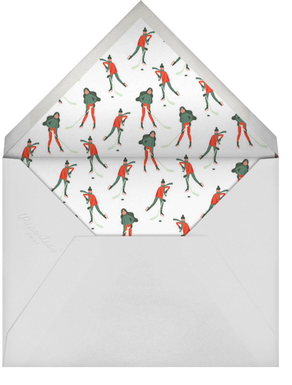 Holiday Hockey (Tall) - Paperless Post - Winter entertaining - envelope back