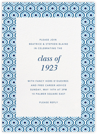 Florianopolis - Blue - Paperless Post - Celebration invitations