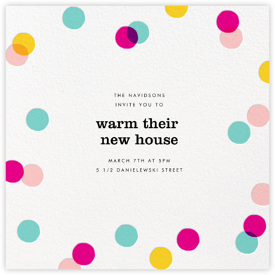 Carnaby - Multi - Paperless Post - Housewarming party invitations