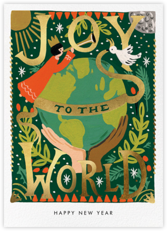 Joyful World - Rifle Paper Co. - New Year Cards