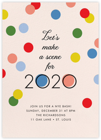 Making Scenes 2020 - Cheree Berry - New Year's Eve Invitations