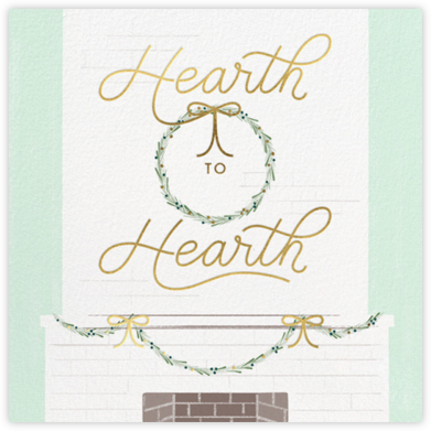 Hearth to Hearth - Paperless Post -