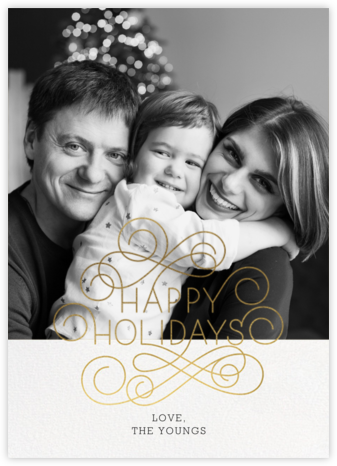 Holiday Frontispiece - Paperless Post -