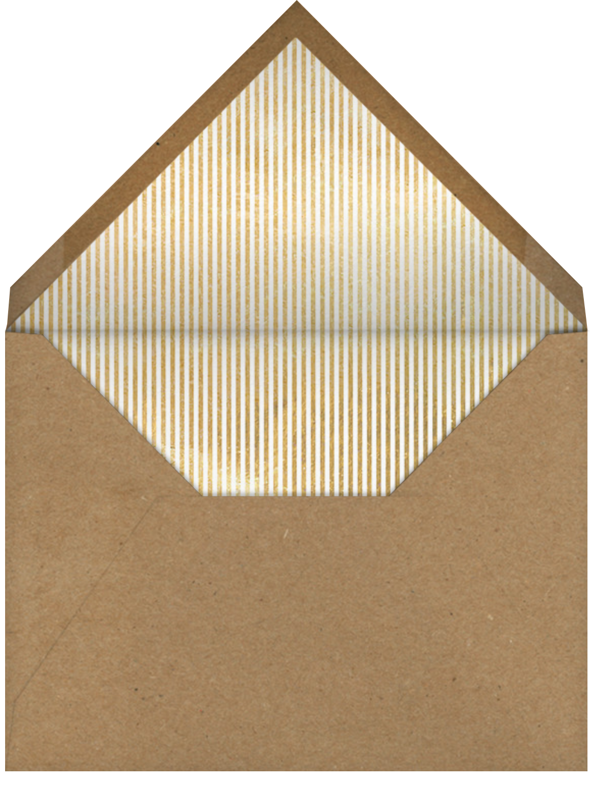 Holiday Frontispiece - Paperless Post - Envelope