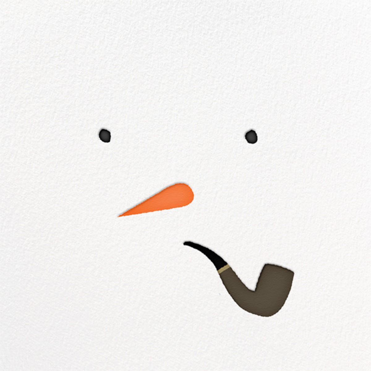 Mr. Snowman - Paperless Post - Christmas