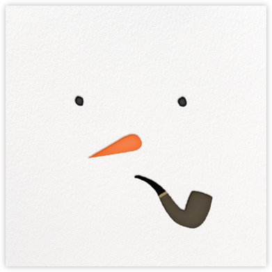 Mr. Snowman - Paperless Post - Holiday Cards