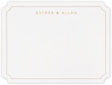 Erte (Thank You) - Medium Gold