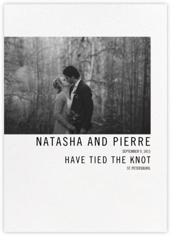 Mise en Scène - Paperless Post - Wedding Announcements