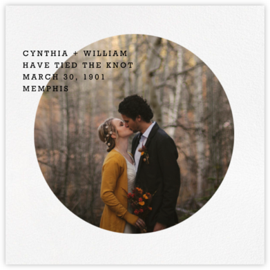 Vignette - Paperless Post - Wedding Announcements