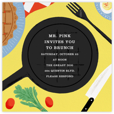 Movable Feast - Paperless Post - Brunch invitations