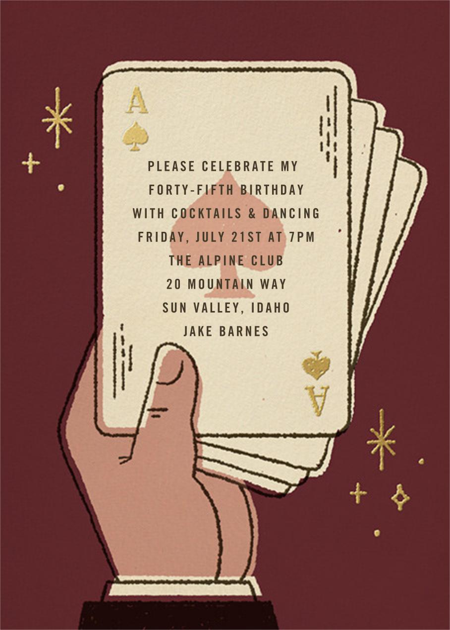 Suitably Magic - Paperless Post - Adult birthday invitations
