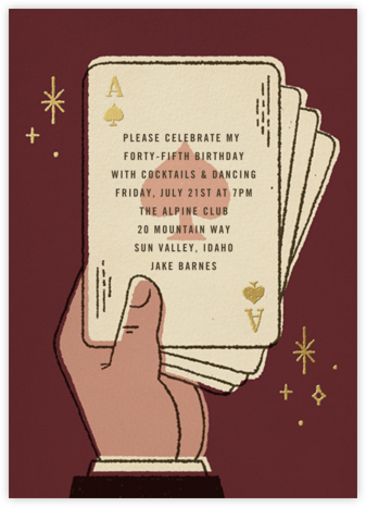 Suitably Magic - Paperless Post - Adult birthday invitations