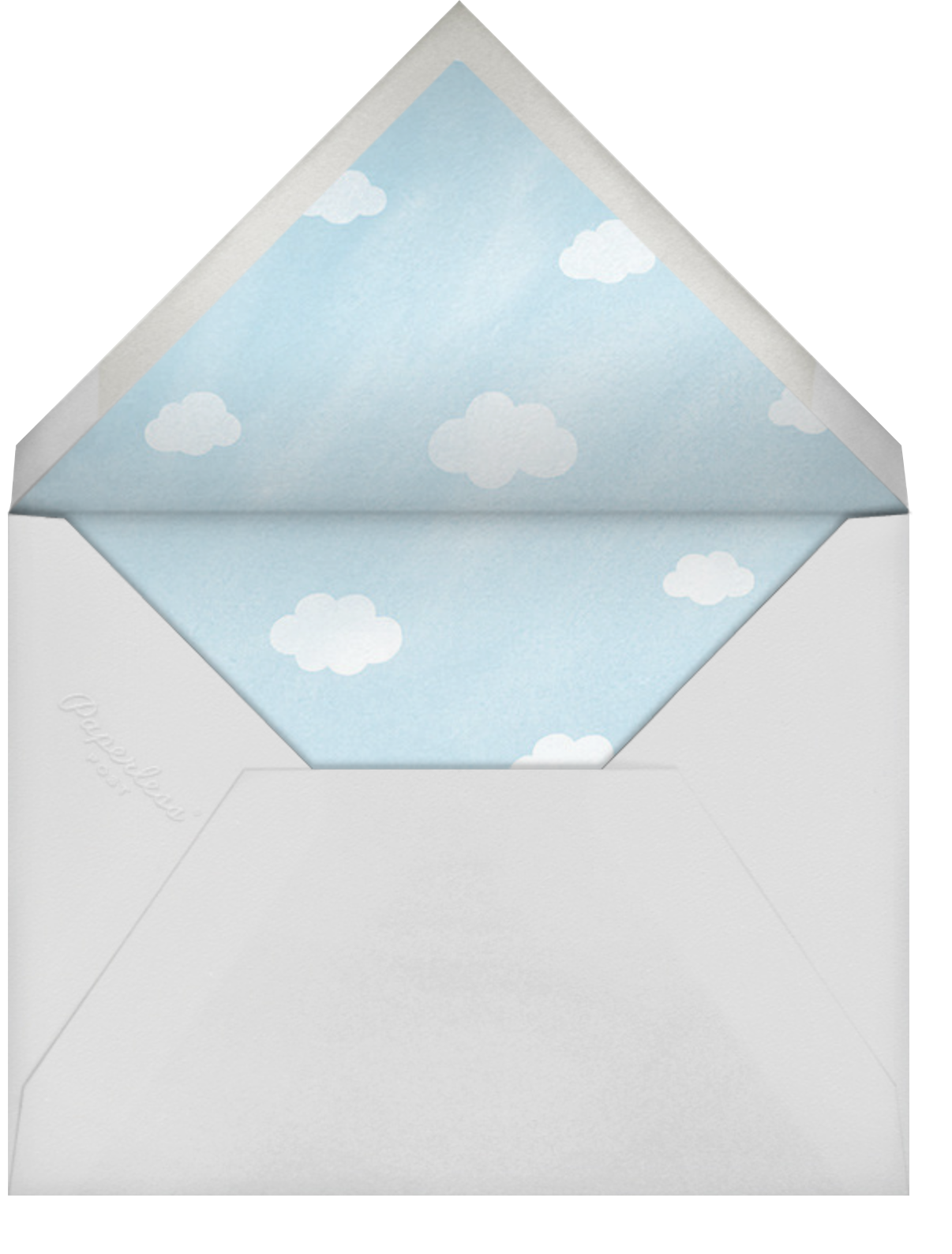Octopiracy - Paperless Post - First birthday and baby - envelope back