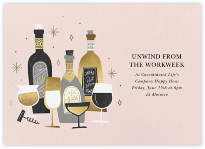 Wine Tour - Paperless Post - Casual Party Invitations