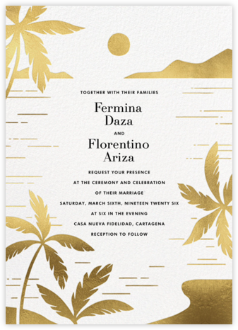 Moon Lagoon (Invitation) - Paperless Post - Destination Wedding Invitations