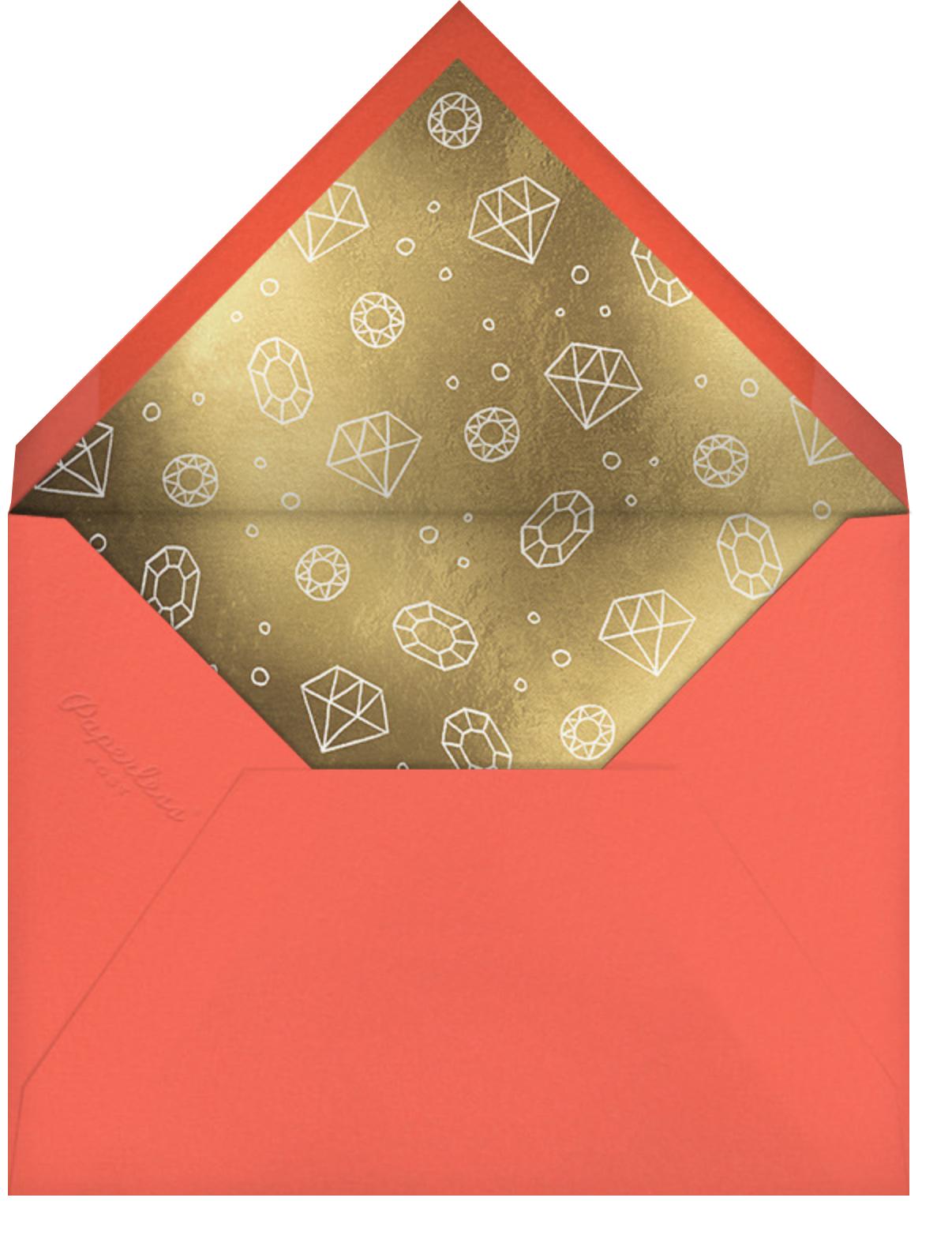 Pirate Treasure - Paperless Post - Mermaid birthday invitations - envelope back
