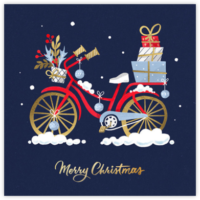 Holiday Cycle - Paperless Post - Christmas Cards