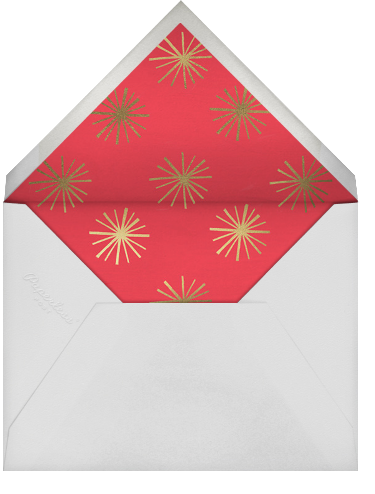Holiday Cycle - Paperless Post - Christmas - envelope back