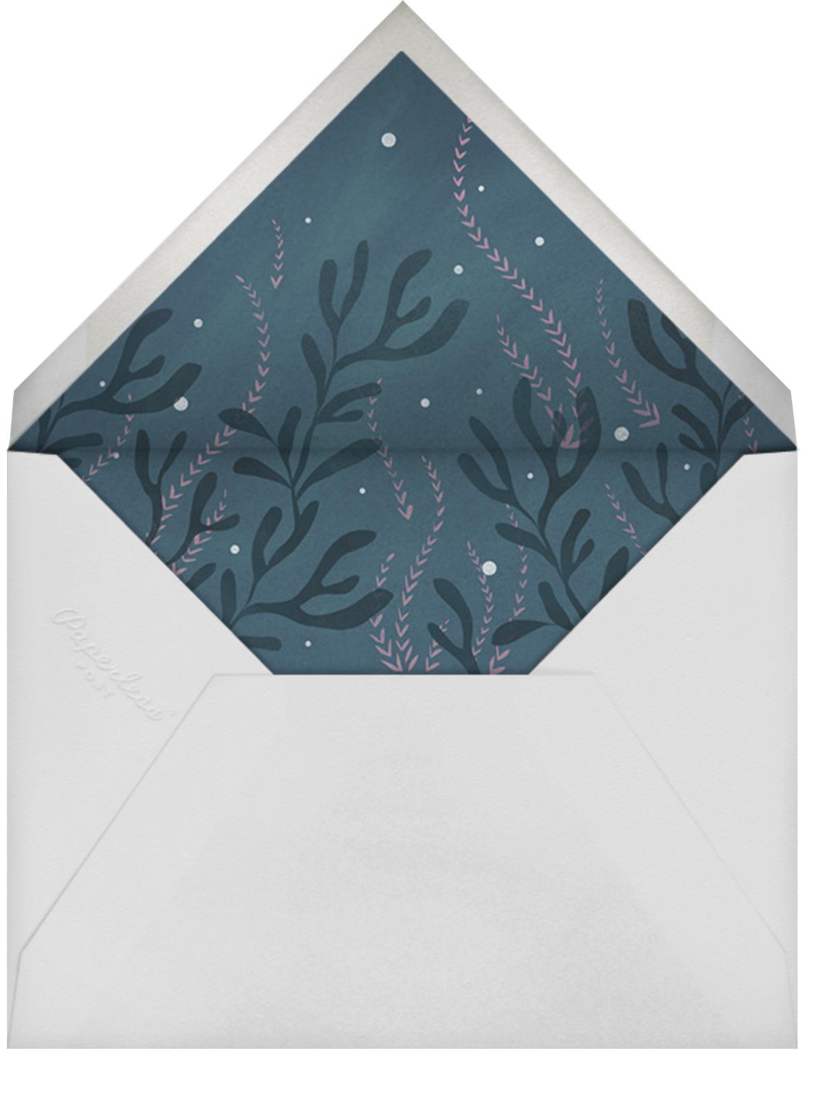 Mermaid Hideaway - Tan - Paperless Post - Envelope