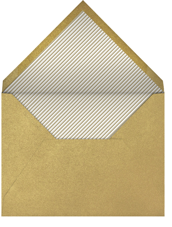 Ornate Fireworks (Ivory Gold) - Paperless Post - null - envelope back