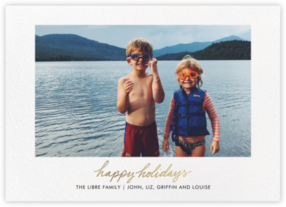 Season's Signature - Linda and Harriett - Holiday photo cards