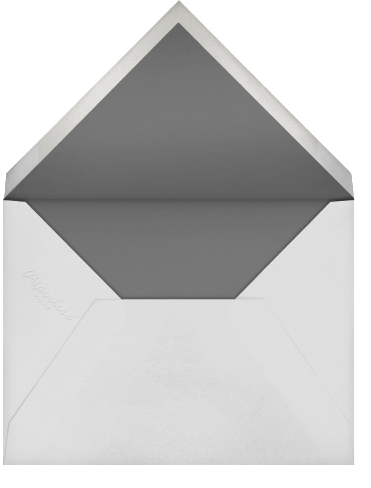 Bristle - Paperless Post - Memorial service - envelope back