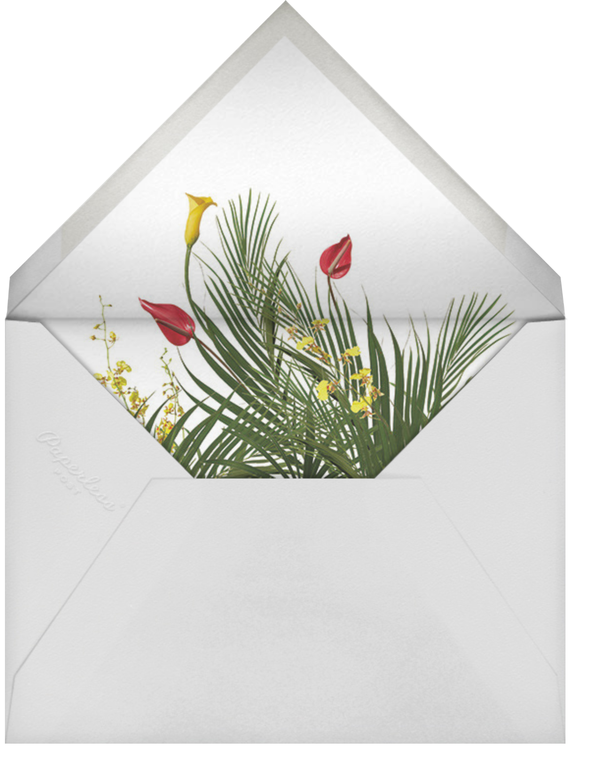 Malacca (Invitation) - Paperless Post - Memorial service - envelope back