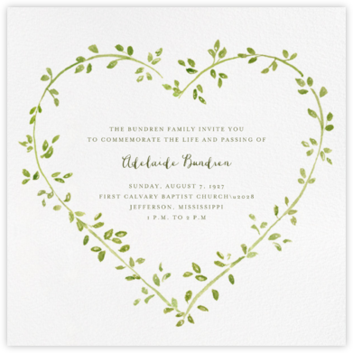 Dahlias (Square) - Paperless Post - Celebration invitations