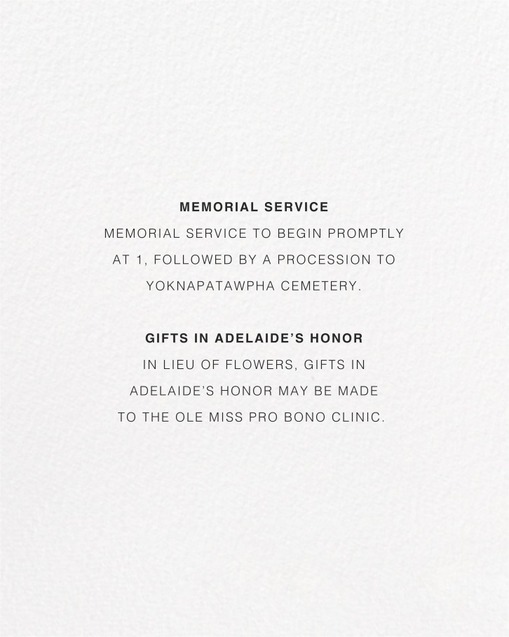 Idylle (Photo Invitation) - Gold - Paperless Post - Memorial service - insert front